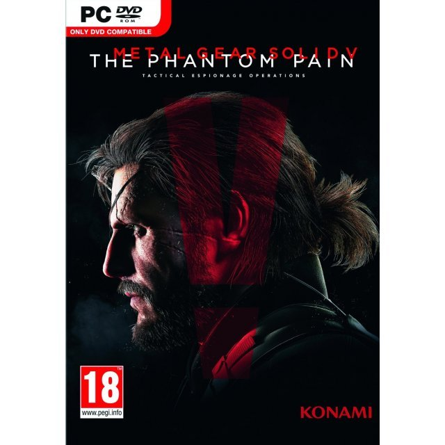 Metal Gear Solid V: The Phantom Pain (DVD-ROM)
