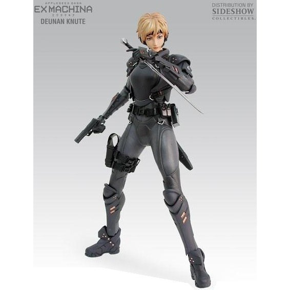 Appleseed Saga Ex Machina 1/6 Scale Pre-Painted Poseable Model Kit: Deunan Knute