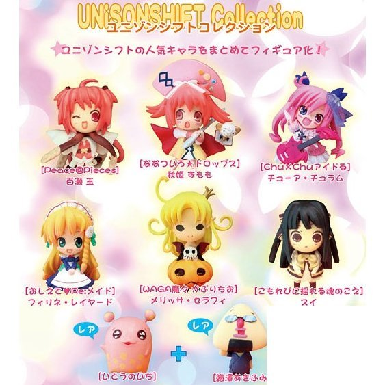 Unisonshift Collection Pre-Painted PVC Trading Figure