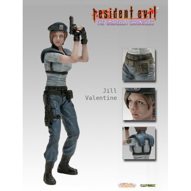 Virtual Legends Resident Evil - The Umbrella Chronicles Pre-Painted 1/6 Scale Statue: Jill Valentine