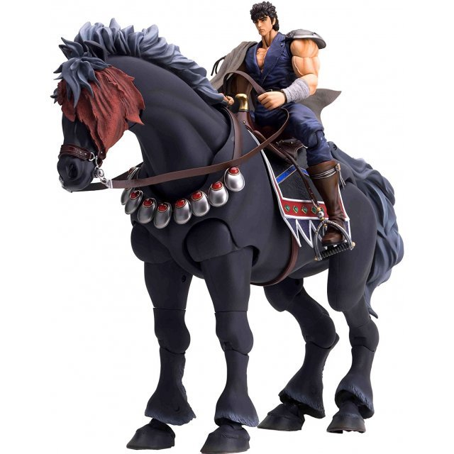 Fist of the North Star 200 X 1/8 Scale Pre-Painted PVC Figure: Kenshiro and Kokuoh