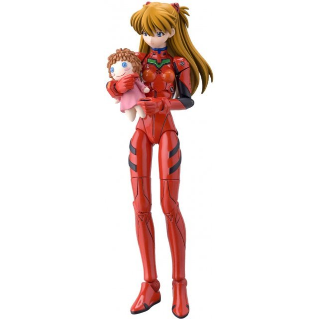 Fraulein Revoltech Series No. 003 - Neon Genesis Evangelion Pre-Painted Figure: Asuka Langley (Re-run)