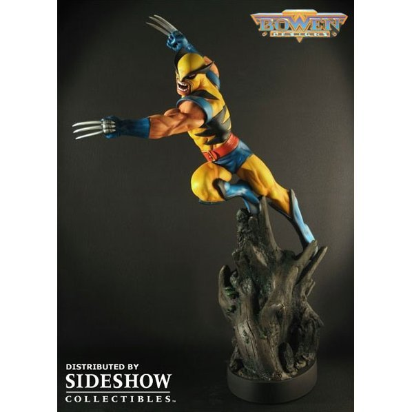 Marvel Collectibles Wolverine Original Polystone Action Statue