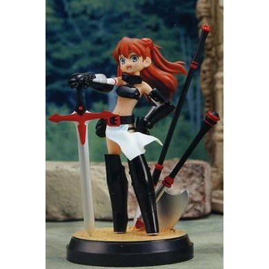 EX Great Adventure Neon Genesis Evangelion Non Scale Pre-Painted PVC Figure: The Dark Brigade Asuka Langley