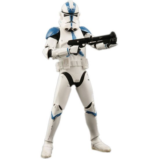 Real Action Heroes 501 Star Wars Pre-Painted Figure: Clone Trooper