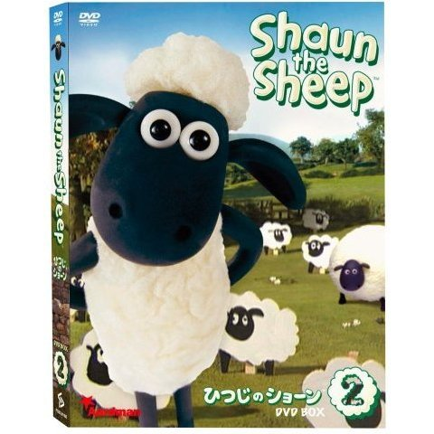 Shaun The Sheep DVD Box 2