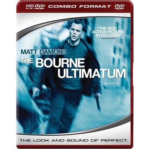 Bourne Ultimatum (HD DVD + DVD Combo Format)