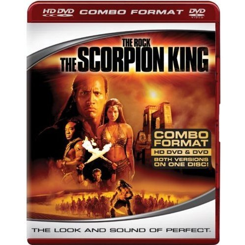 Scorpion King (HD DVD + DVD Combo Format)