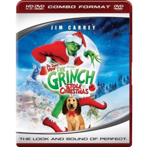 Dr. Seuss' How the Grinch Stole Christmas  (HD DVD + DVD Combo Format)