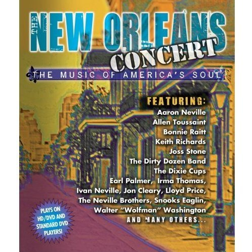 New Orleans Concert: The Music of America's Soul (HD DVD + DVD Combo Format)