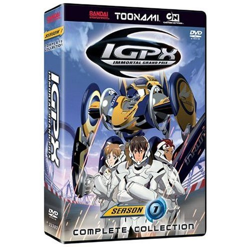 IGPX Complete Collection Season 1 Toonami