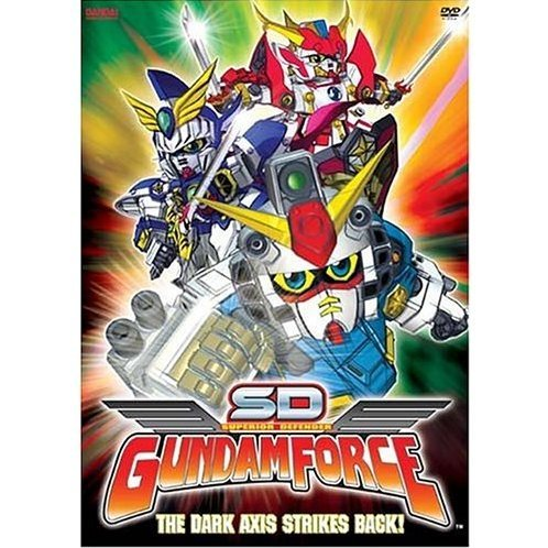 SD Gundam Force Vol 6 - The Dark Axis Strikes Back!