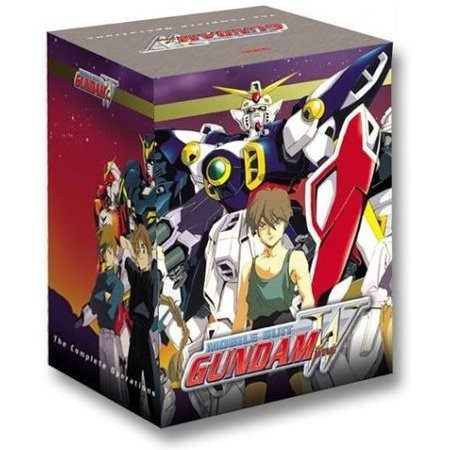 Mobile Suit Gundam Wing DVD Box Set