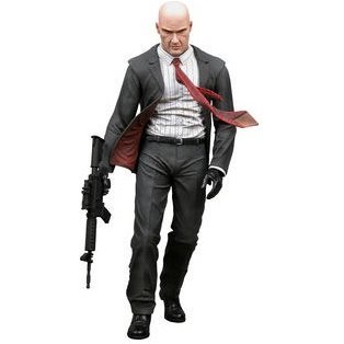 Player Select Hitman Pre-Painted Action Figure: Blood Money Hitman