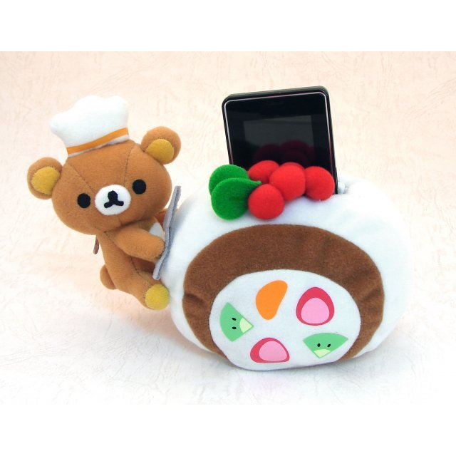 Rilakkuma with cake Plush Doll