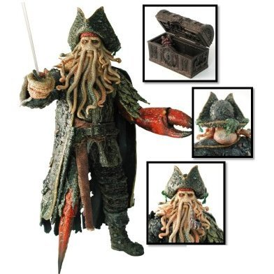 Movie Masterpiece Pirates of The Caribbean At World's End 1/6 Scale Pre-Painted Figure: Davy Jones