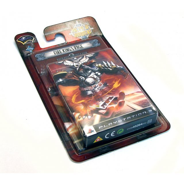 The Eye of Judgment: Biolith Rebellion Set 2: Fire Crusader Theme Deck