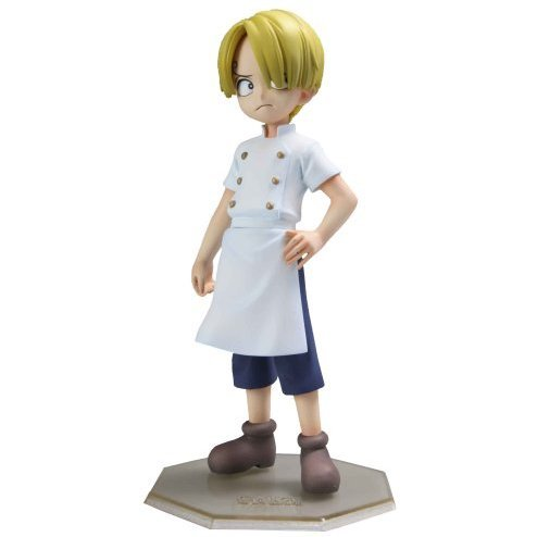 Excellent Model One Piece Portraits of Pirates P.O.P. CB-1 1/8 Scale Pre-Painted Figure: Sanji (Kid Version)