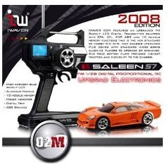 Iwaver FM 1/28 Digital Proportional RC Saleen S7 (2008 Edition)