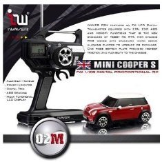 Iwaver FM 1/28 Digital Proportional RC Mini Cooper S II Red (2008 Edition)