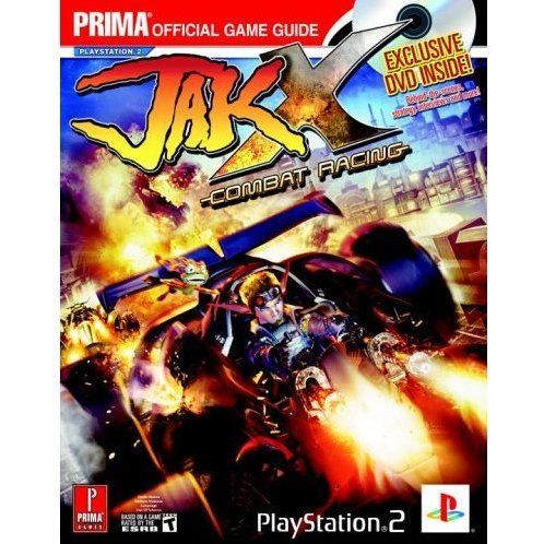 Jak X: Combat Racing (with DVD) Prima Official Game Guide