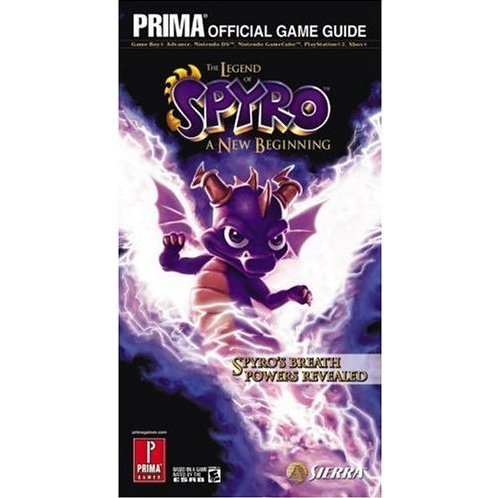 The Legend of Spyro: A New Beginning Prima Official Game Guide