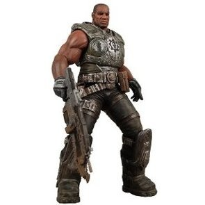 Gears of War Series 1 Pre-Painted Action Figure: Augustus Cole