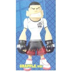 B.M.N Strike & Grapple Round 1 Pre-Painted PVC Figure: Kaminaru (Grapple Version)