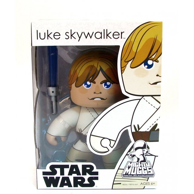 Star Wars 2 Mighty Muggs Non Scale Pre-Painted Figure: Luke Skywalker