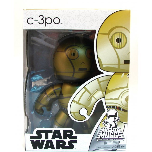 Star Wars 2 Mighty Muggs Non Scale Pre-Painted Figure: C-3PO