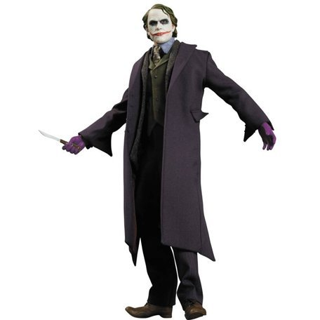 Dark Knight Batman 1/6 Scale Pre-Painted Deluxe Figure: The Joker