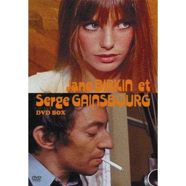 Jane Birkin Et Serge Gainsbourg DVD Box