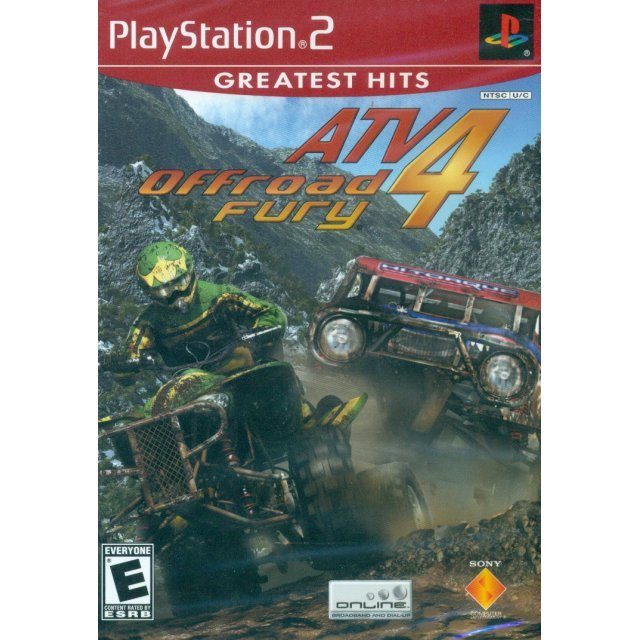 ATV Offroad Fury 4 (Greatest Hits)