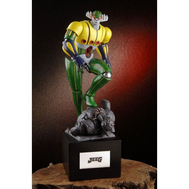 GRO Iron Jeeg Non Scale Pre-Painted Statue: Iron Jeeg (Colour Version)