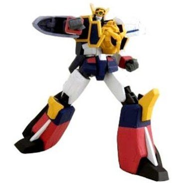 Sunrise Mechanical Action Series Brave Express Might Gaine Non Scale Pre-Painted PVC Action Figure: Might Gaine