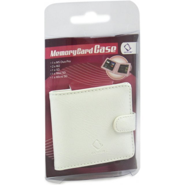 Memory Card Case (Multi Type / White)