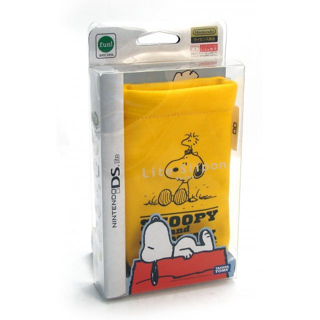 Peanuts Lite Slipon Socks Pouch - Yellow