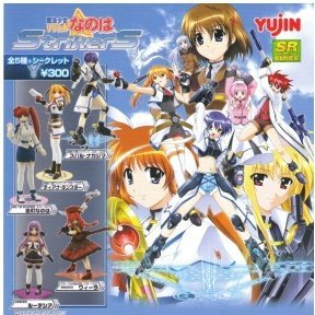 SR Magical Girl Series Lyrical Nanoha StrikerS Gashapon