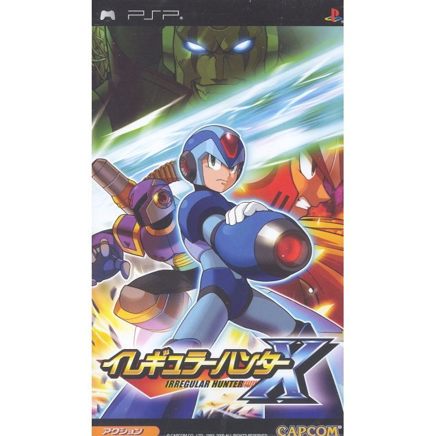 Rockman X Irregular Hunter (Reprint)
