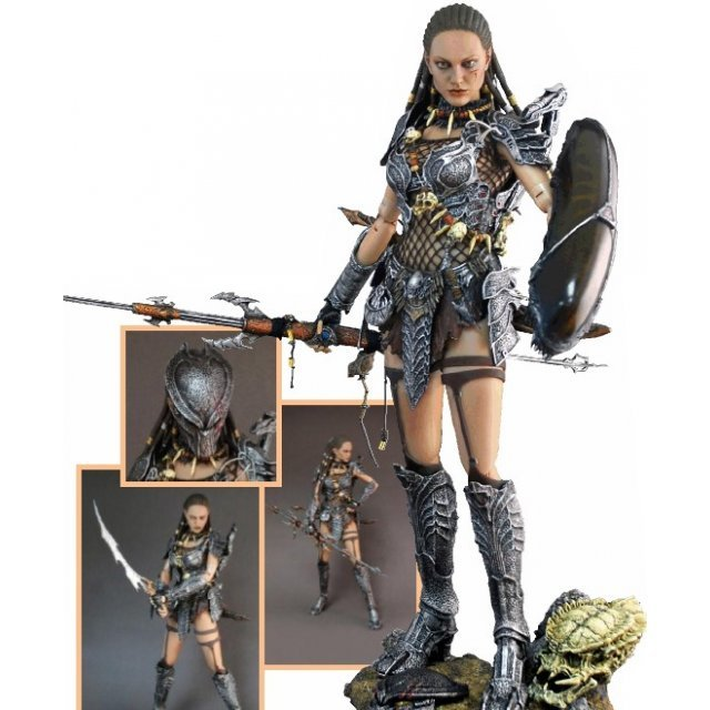 Alien vs Predator 1/6 Scale Pre-Painted Figure: She Predator Machiko