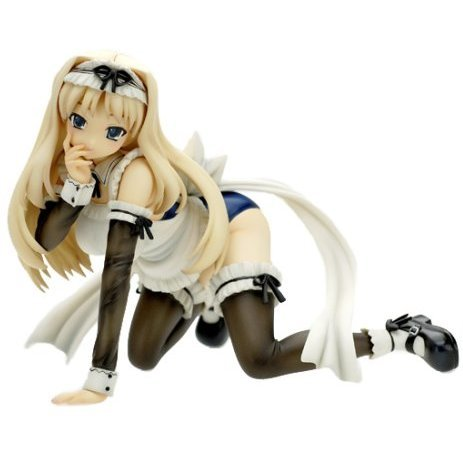 To Heart 2 1/7 Scale Pre-Painted PVC Figure: Kusugawa Sasara School Swimsuit Maid Ver (Re-run)