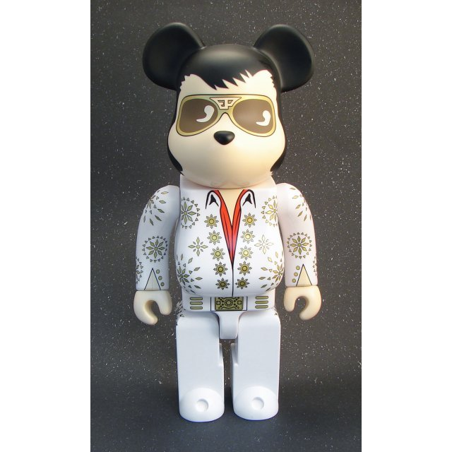 Be@rbrick Non Scale 400% Pre-Painted Figure: Elvis Presley