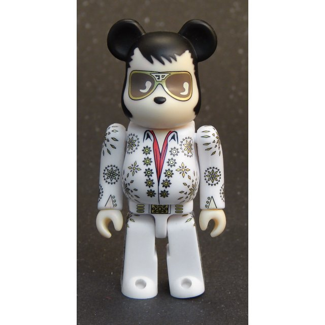 Be@rbrick Non Scale 100% Pre-Painted Figure: Elvis Presley