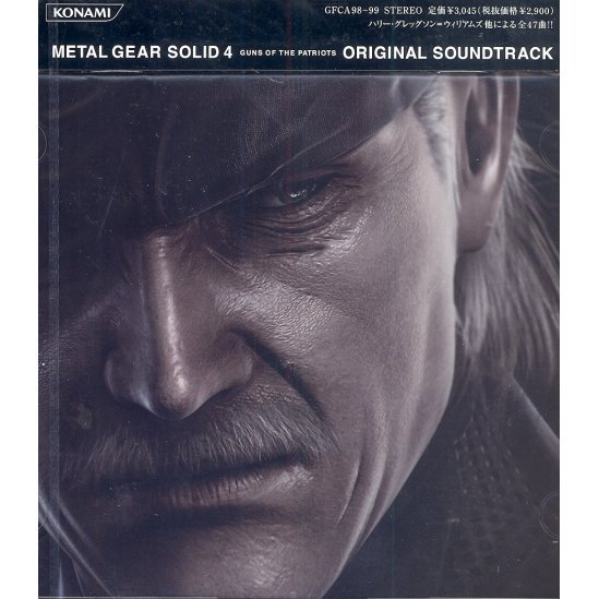 Metal Gear Solid 4: Guns of the Patriots Original Soundtrack