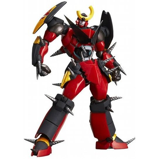 Revoltech Series No. 058 - Gurren Lagann Non Scale Pre-Painted PVC Action Figure: Gurren Lagann Fulldrillized