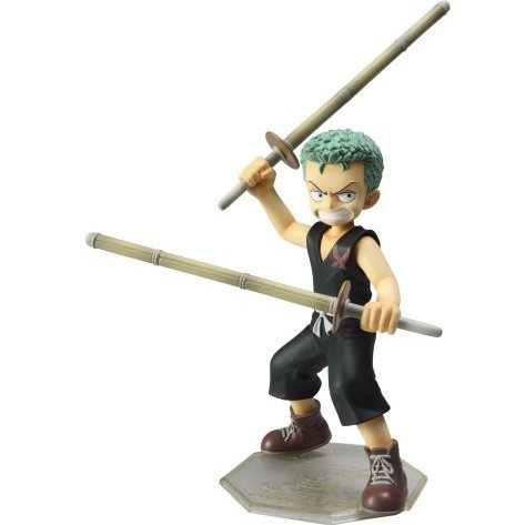 Excellent Model One Piece Portraits of Pirates P.O.P. CB-2 1/8 Scale Pre-Painted Figure: Zoro (Kid Version)