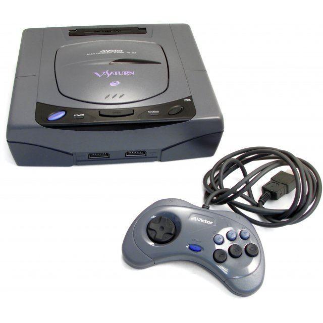Sega Saturn Console - Victor V-Saturn RG-JX1 (loose