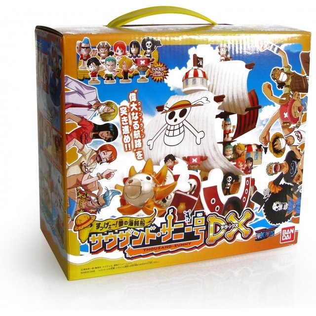One Piece Dream Pirate Ship Thousand Sunny Figure