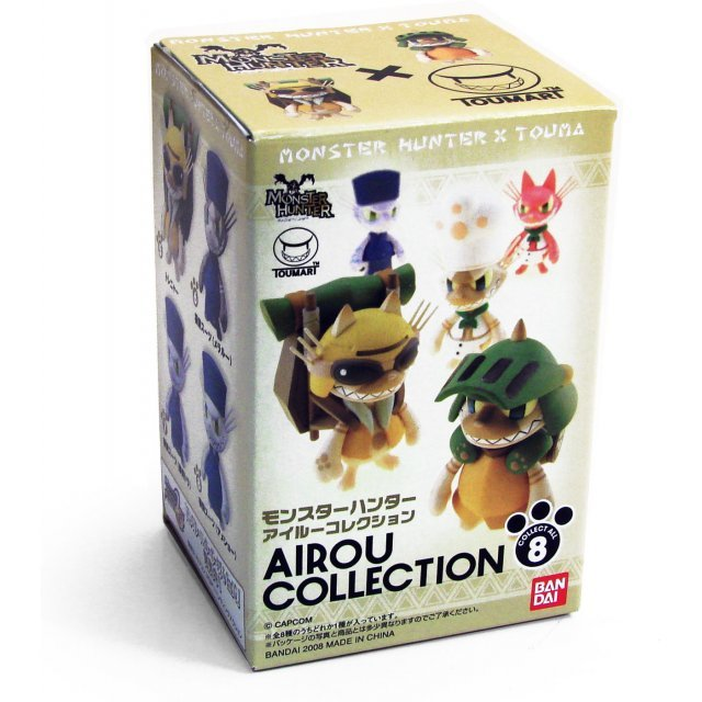 Monster Hunter X Touma Hunter Airou Collection Pre-Painted Trading Figure (Re-run)