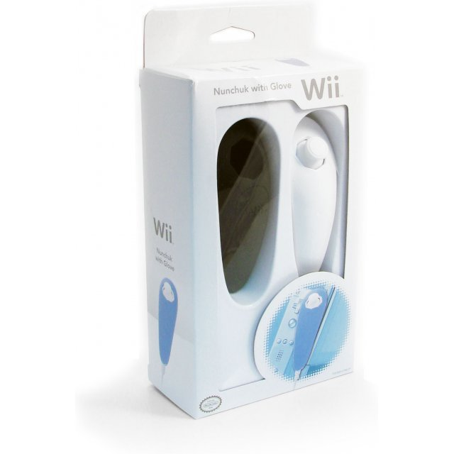 Wii Nunchuk with Glove (Special Edition / Black)